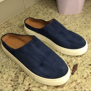 Blue Caslon Gabe Backless Platform Sneakers